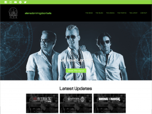 Band & Music Website Design